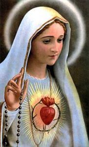 Poświęcenie parafii i rodzin Niepokalanemu Sercu Najświętszej Maryi Panny