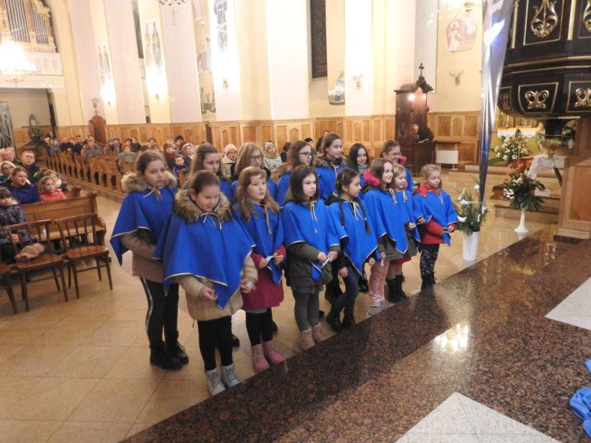 Ustanowienie Dziewczęcej Służby Maryjnej jako nowej grupy parafialnej – 12 grudnia 2018 r.
